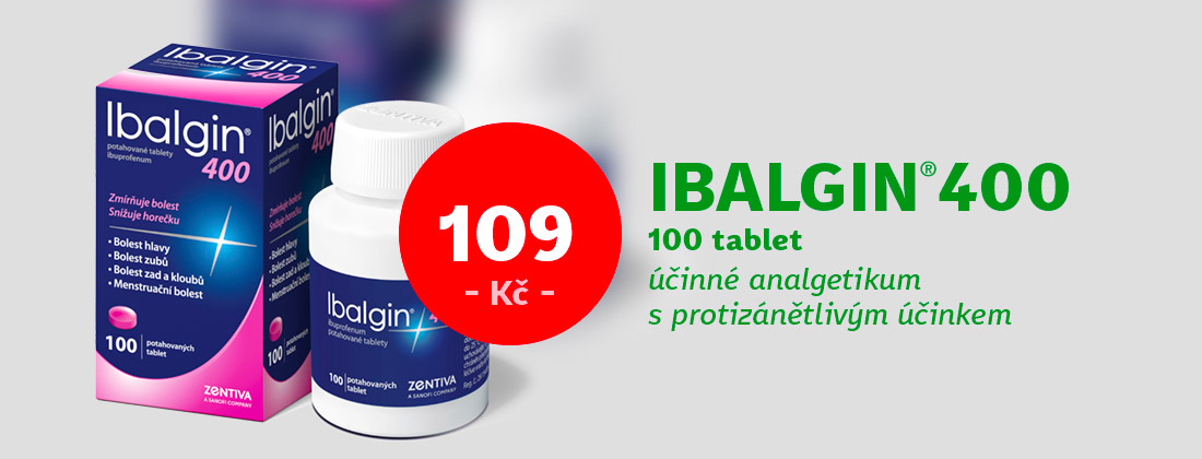 Ibalgin 400 400mg 100 tablet