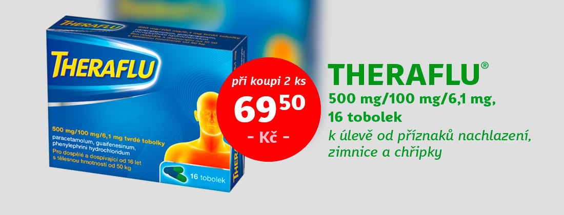Theraflu 500mg / 100mg / 6,1mg 16 tobolek
