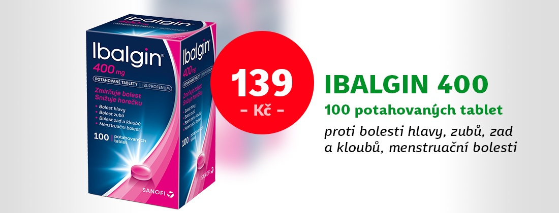 Ibalgin 400mg 100 tablet